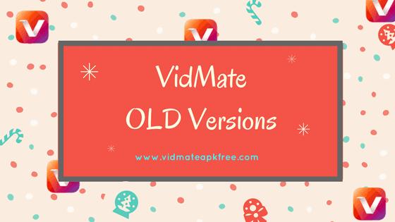 VidMate OLD Versions