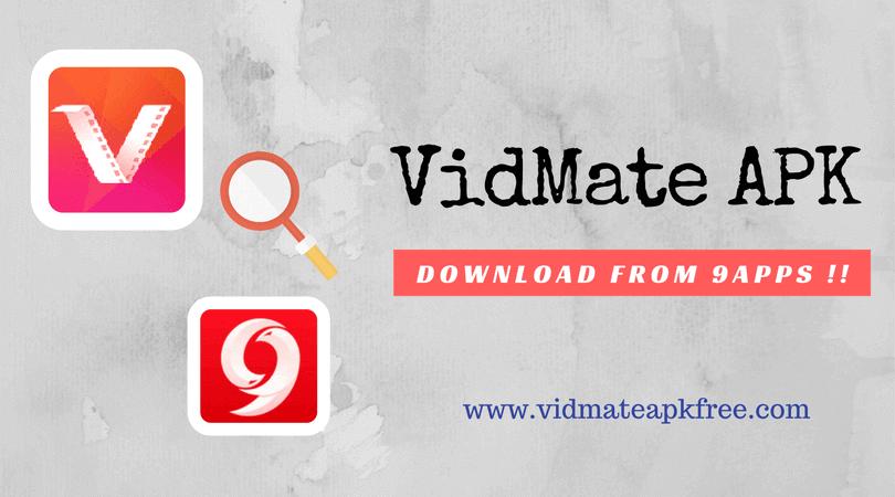 Vidmate apk download 9apps
